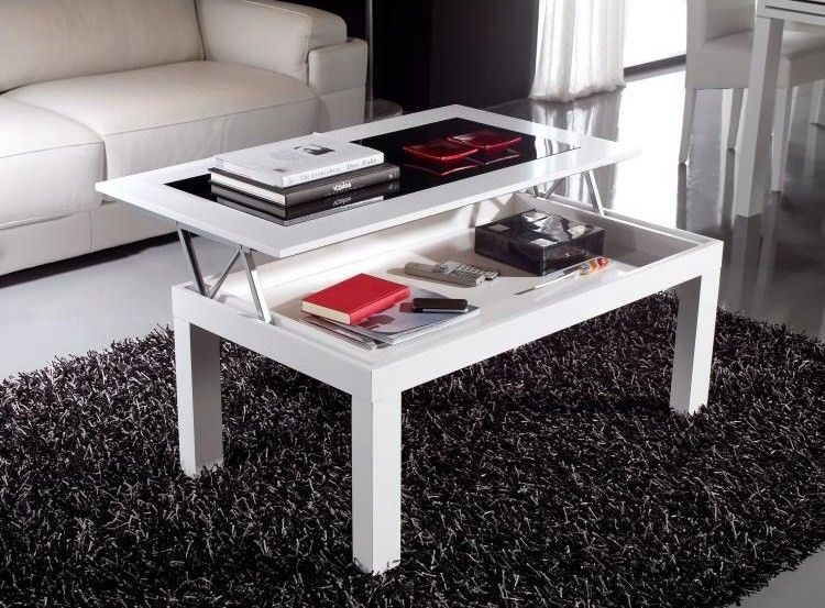 Mesa de centro comedor hogar deco table y table basse - Mesa plegable diseno ...