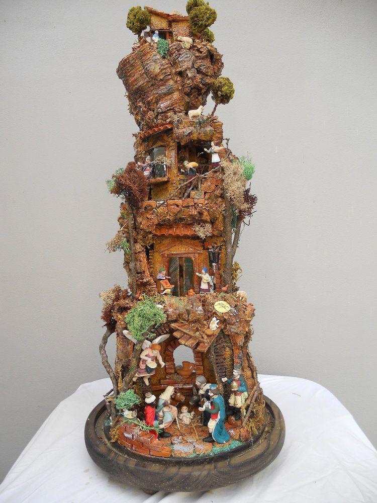 Estremamente Presepi in campane di vetro | Nativity Scenes Brunella Gagliotta  OJ55