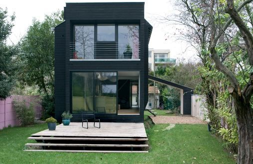 maison contemporaine bois facade atelier16archi architecture pinterest architecture. Black Bedroom Furniture Sets. Home Design Ideas