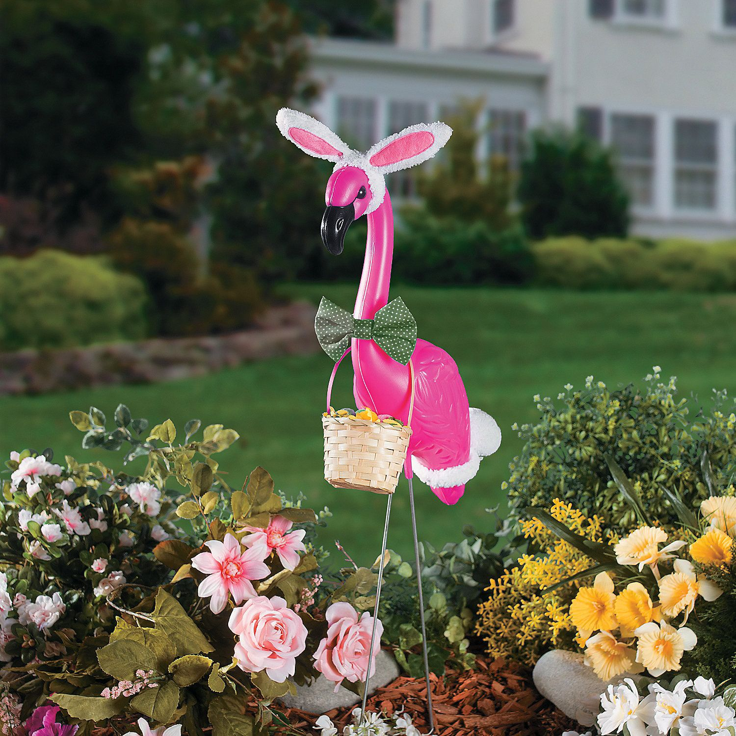 Flamingo Easter Outfit $4.98 The Flamingo Yard Ornament without ...