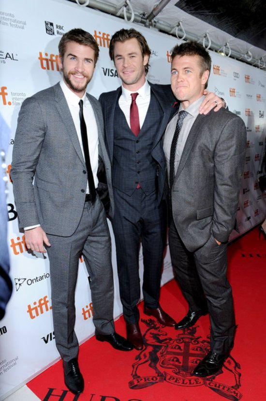 Luke Hemsworth Films Et Programmes Tv : hemsworth, films, programmes, Triple, Hemsworths:, Chris, Premiere, Hemsworth, Brothers,, Hemsworth,
