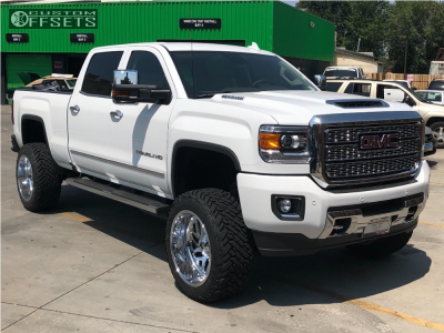 2019 Gmc Sierra 2500 Hd Fuel Triton Fuel Mud Gripper Gmc Trucks Lifted Trucks Trucks