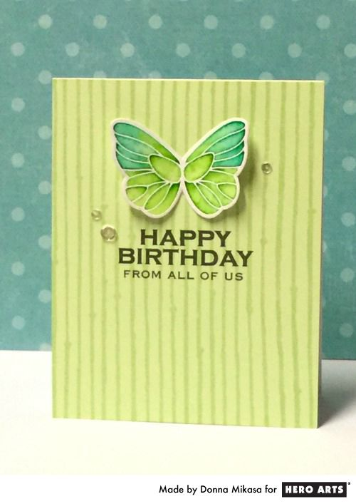 Birthday Butterfly Simple beauty!
