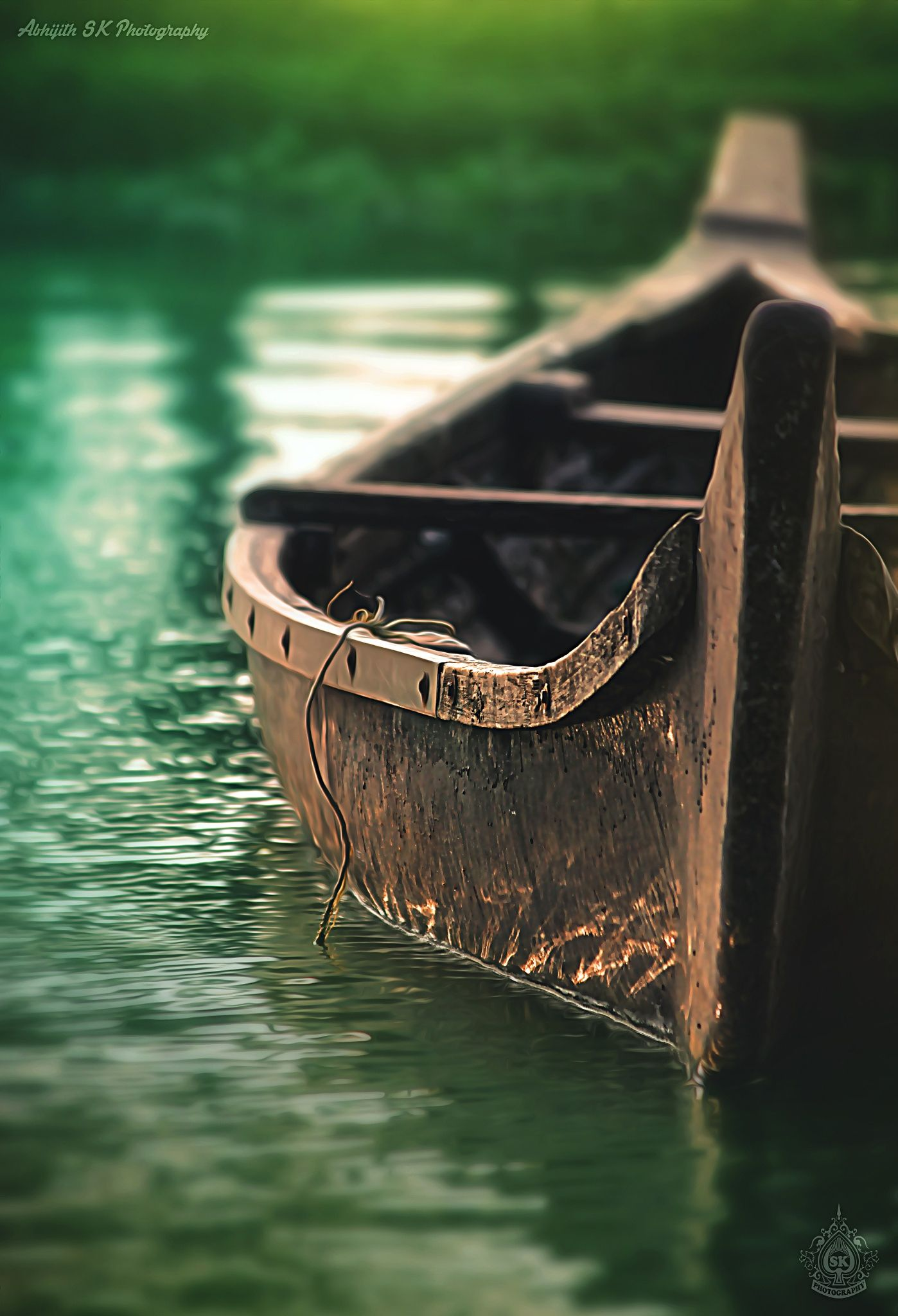 resting boat by Abhijith SK on 500px