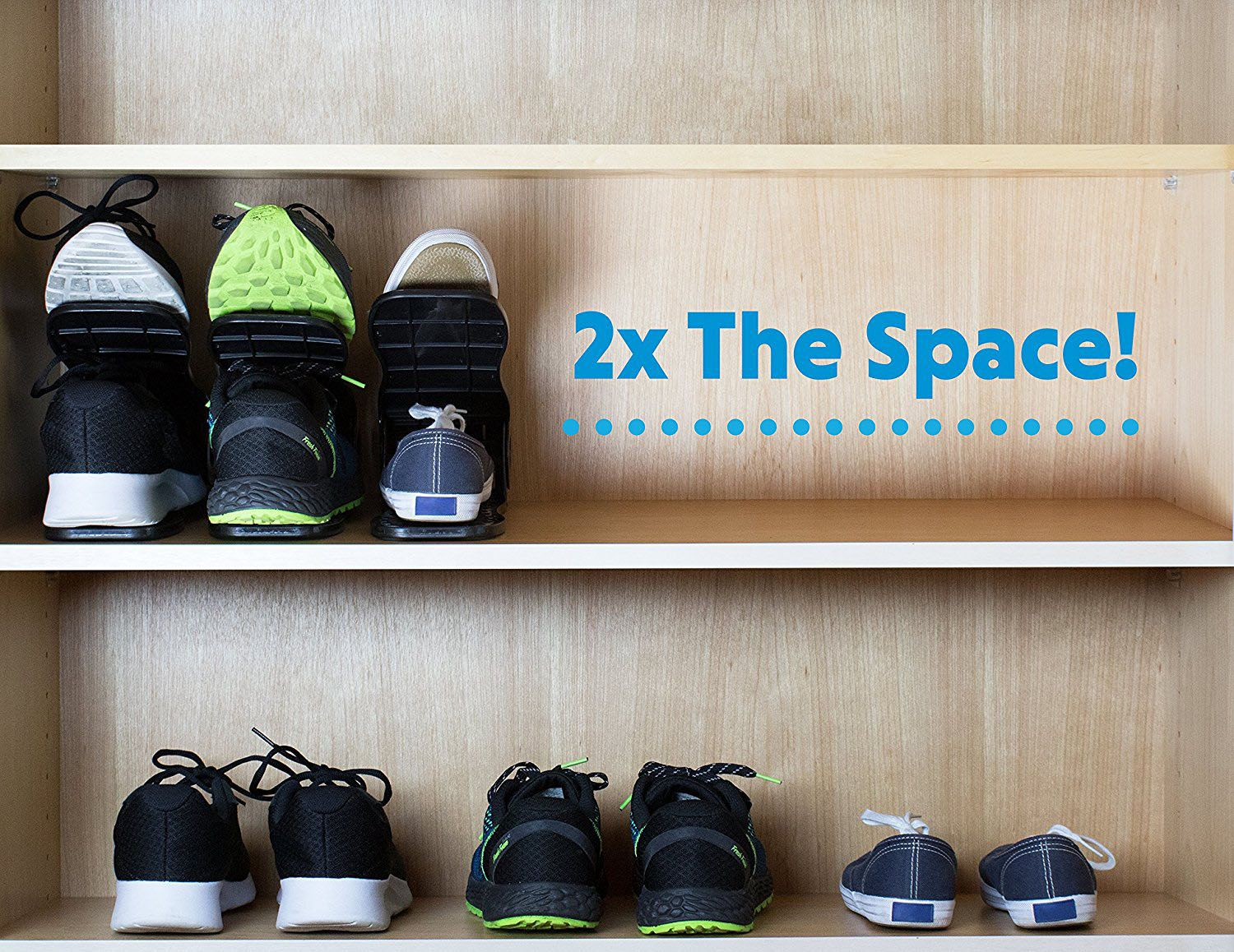 How to double your shoe storage for 20 and make it more
