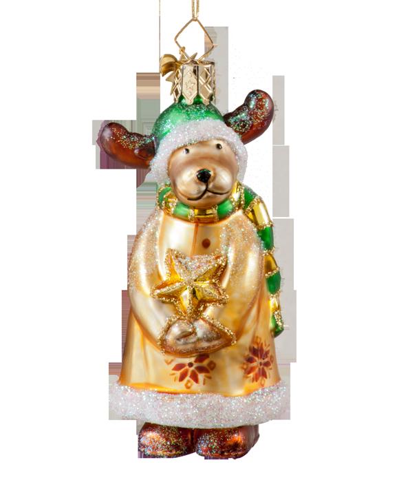 Käthe Wohlfahrt - Online Shop   Reindeer with green cap ...