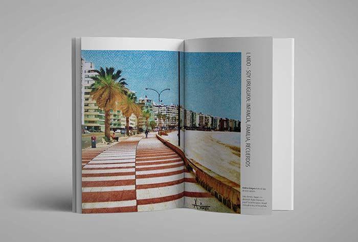 Projeto Gráfico de livro de memórias | Consulado do Uruguai
