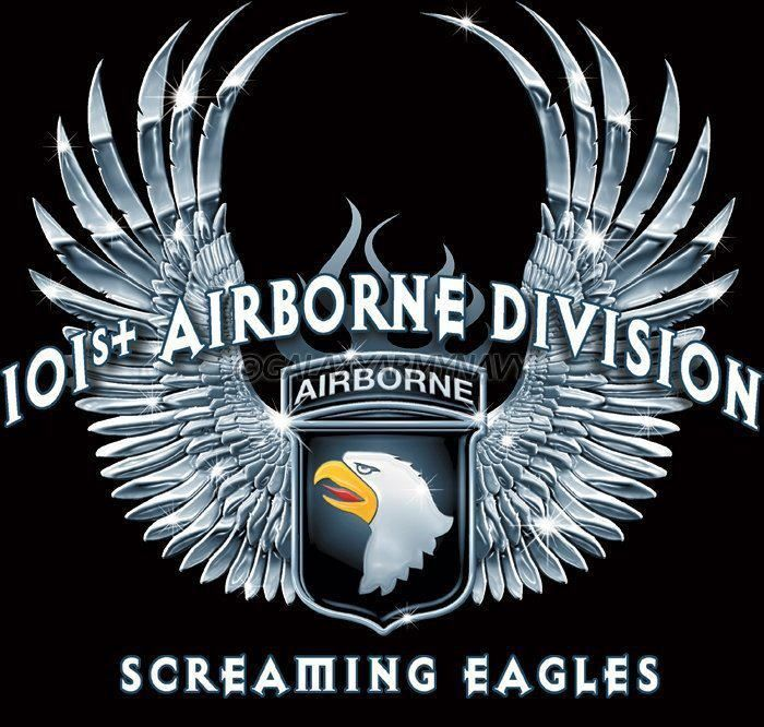 Crest for the 101st Airborne Division Going to get something like this  tattooed in honor of Andre. 82a22f5ed