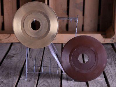 Receta   Discos de vinilo en chocolate - canalcocina.es