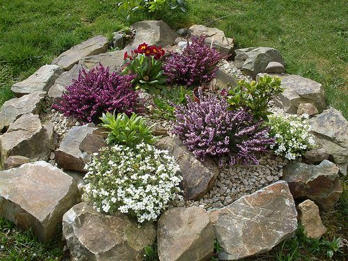 Blooming Rockery By Owl Lover | Landscaping | Pinterest | Gardens