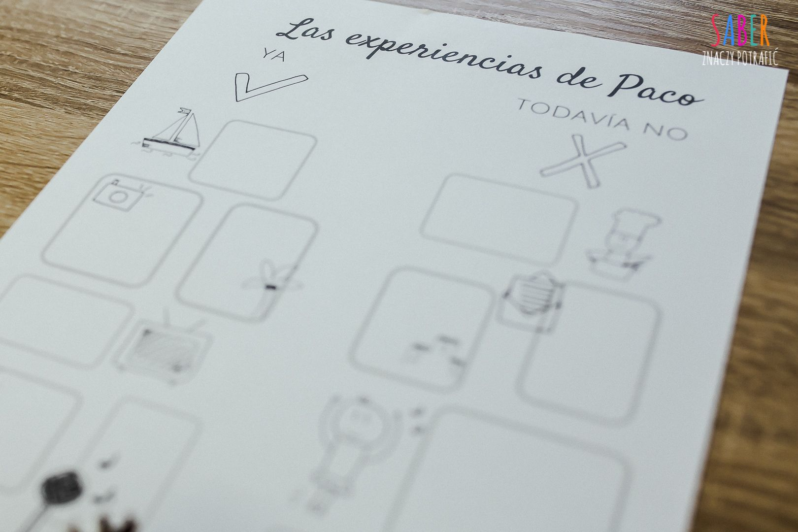 Tiempos Pasados Hand Drawn Worksheets To Learn Spanish