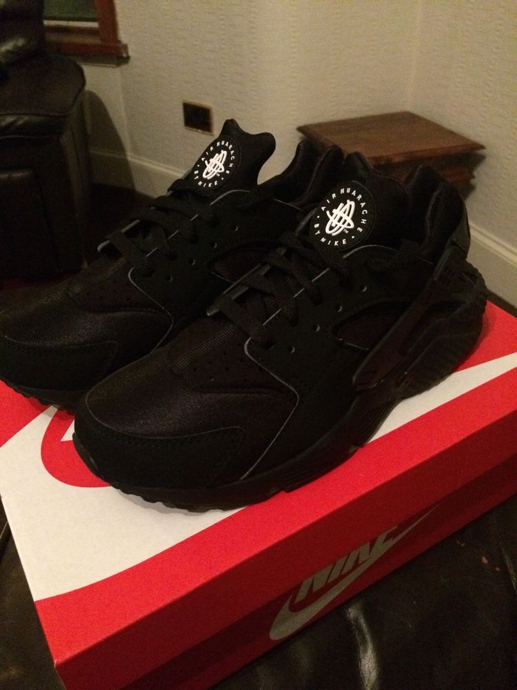 Mens Nike Huarache Triple Black