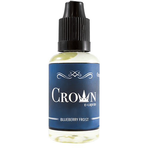 Crown E-Liquid Blueberry Frost 30ml - Our signature wintergreen flavor blends with sweet blueberries to make this sweet and cool crowd favorite.60% VGShips from Gilla - Florida
