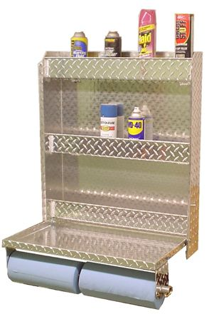 Superior Metal Diamond Plate Aluminum Door Cabinet