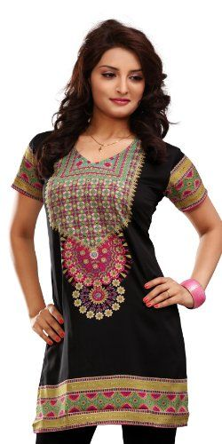 1b782caa52 Indian Tunic Top Womens Kurti Printed Blouse India Clothing - 41 Designs! -  Listing price: $49.95 Now: $9.99