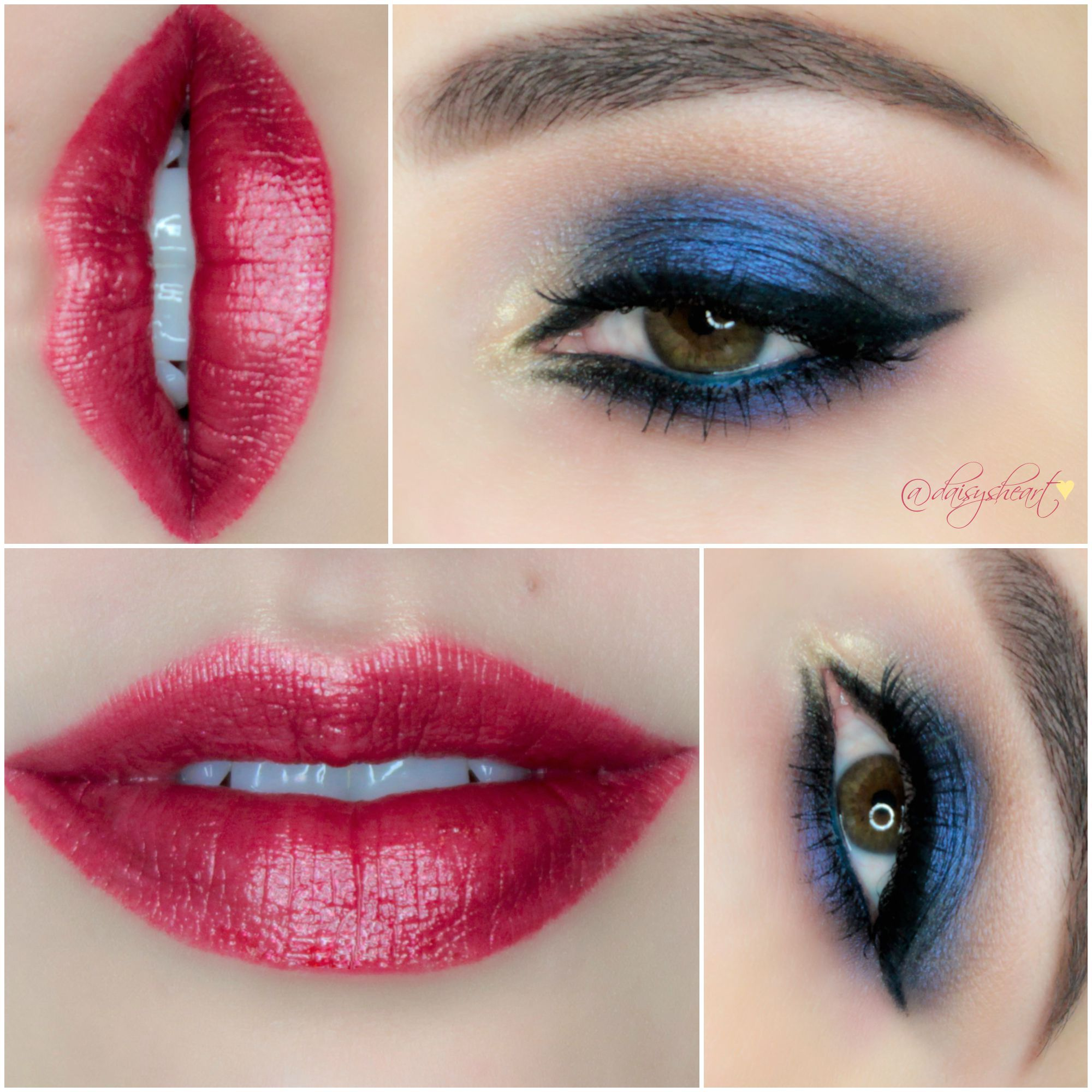 Makeup Geek shadows & Estee Lauder Pure color lipstick in ...