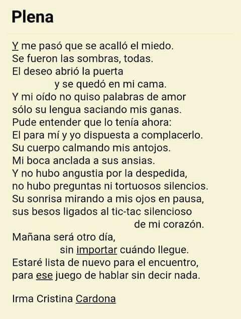 Irma Cristina Cardona Love Quotes Frases Poetry