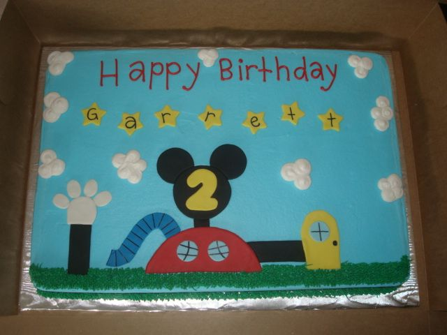 mickeymouse clubhouse sheet cake Google Search Mickey And Minnie