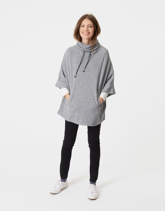 Joules Sayla Women Sweatshirt-Style Poncho