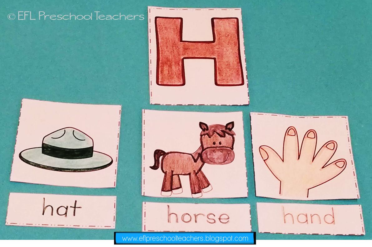 Esl Alphabet Flashcards Worksheets Start Reading By