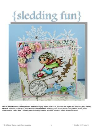 ISSUU - Whimsy Stamps Inspirations Magazine - Issue 14 by Whimsy Stamps
