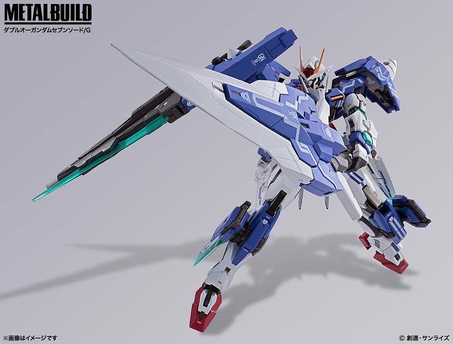GUNDAM Metal Build 00 Gundam Seven Sword Bandai