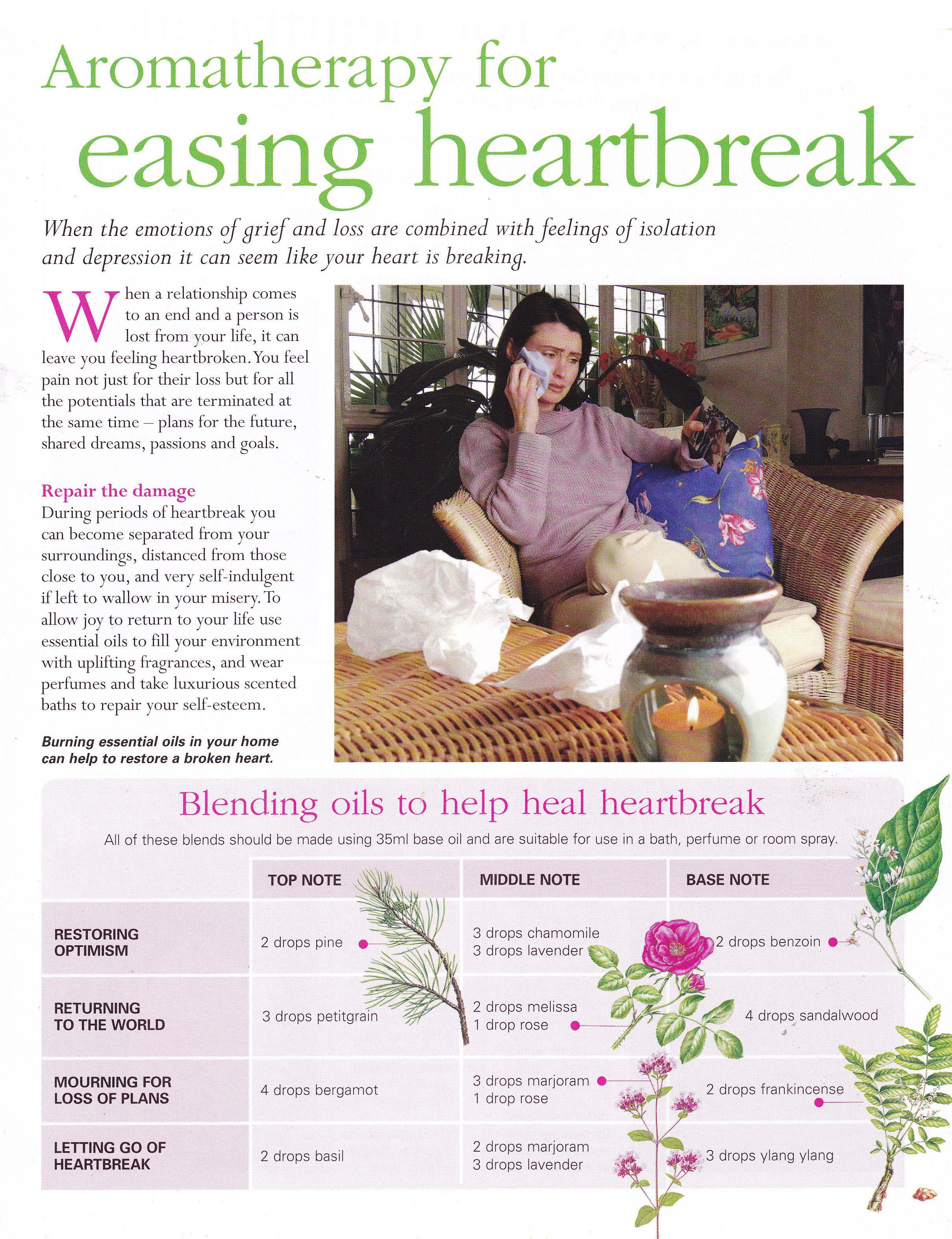 aromatherapy for easing heartbreak doterra therische le und rezepte. Black Bedroom Furniture Sets. Home Design Ideas