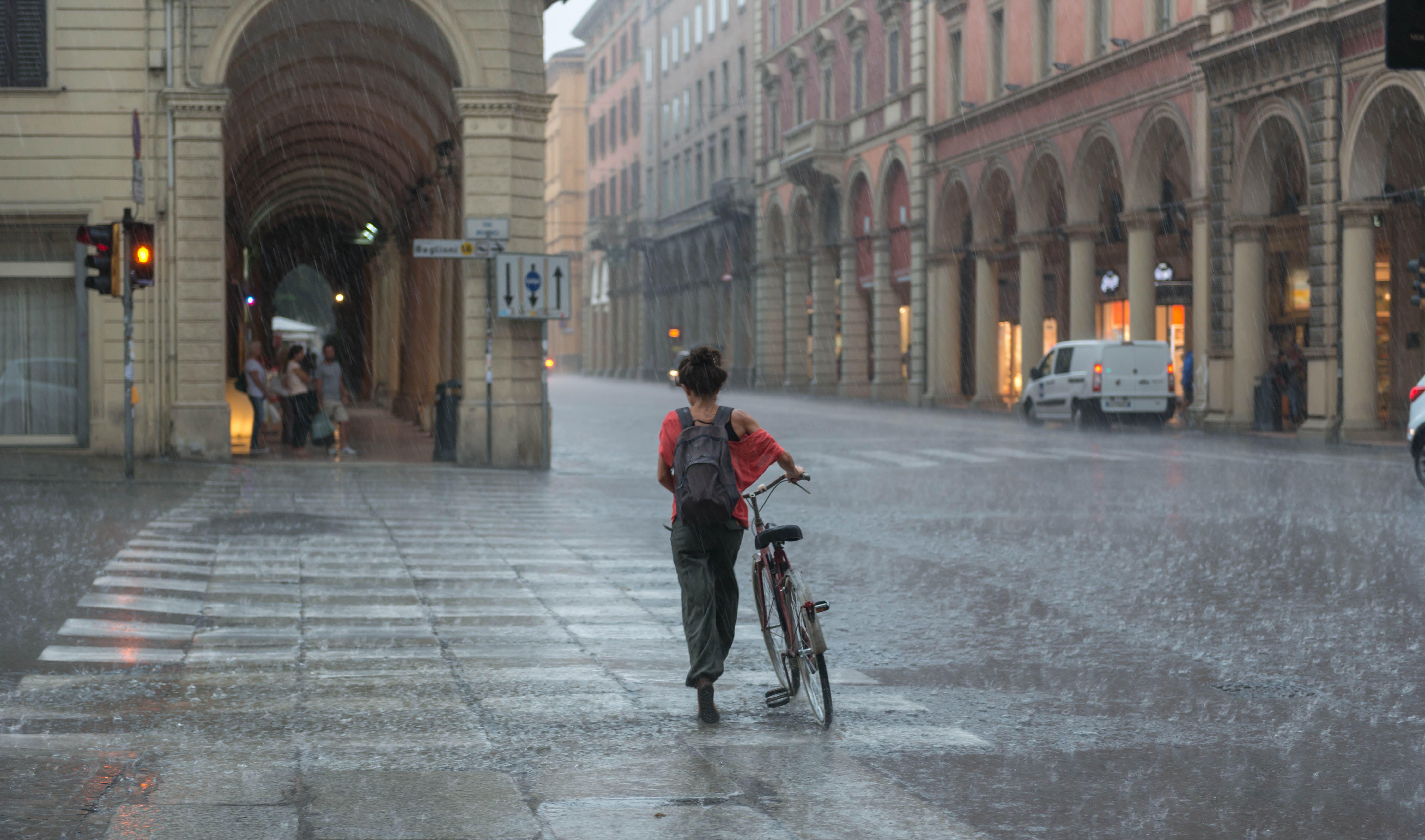 Las bicicletas no son para el invierno