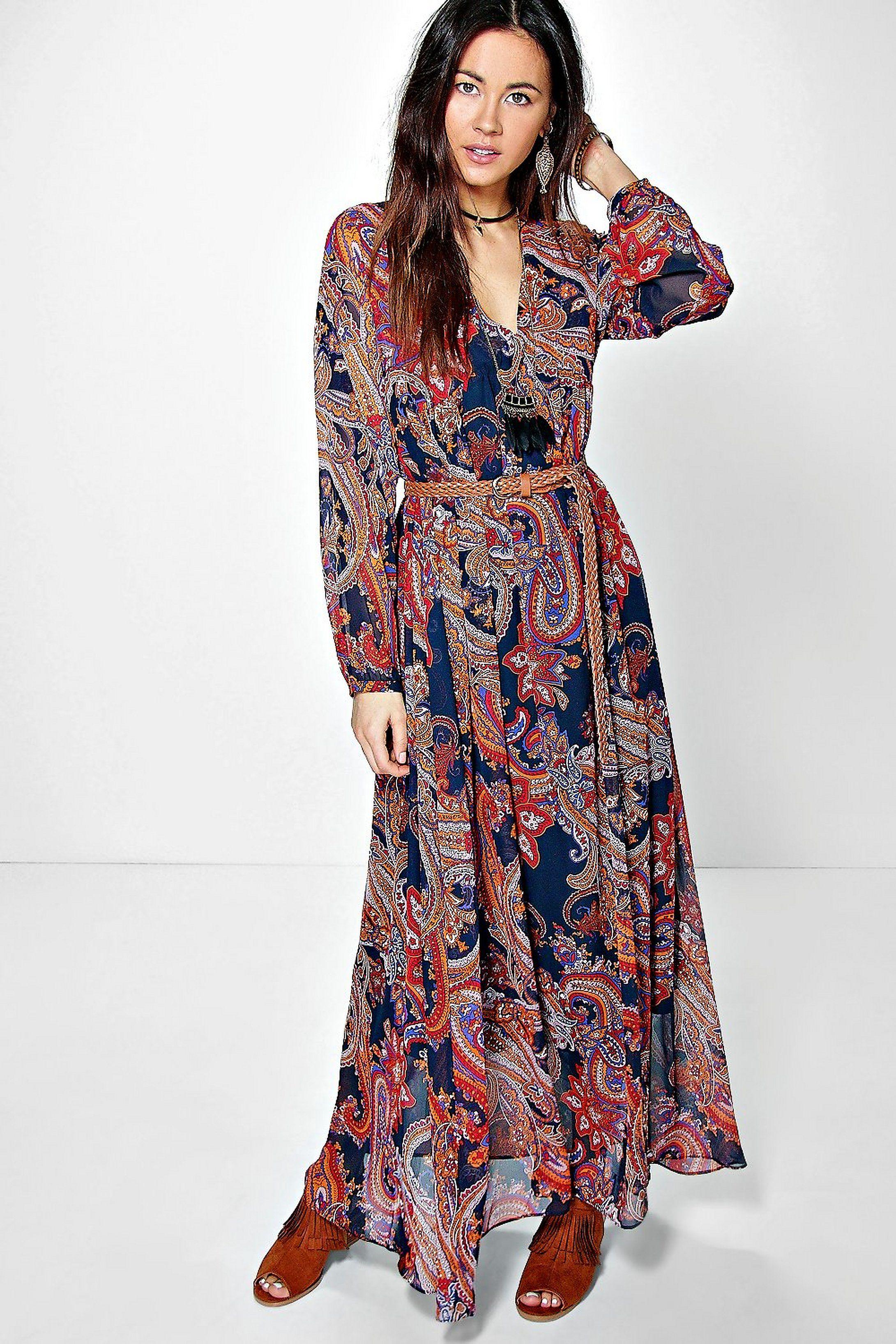 Robe longue asymétrique Elisabetta Franchi en tissu lurex