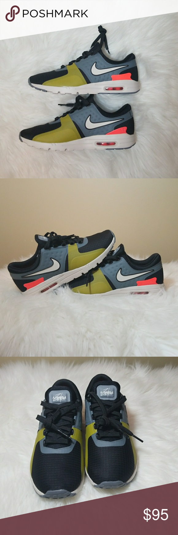 half off dc1da 8ddf9 Women s Air Max Zero SI Air Max Zero SI - Black Light Bone-Cool Grey. Never  Worn with Box Included no lid. Serious offers and Reasonable Negotiations  will ...
