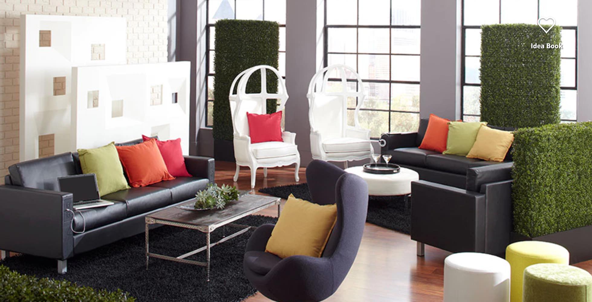 Cort Furniture Grass Carpet Is Nice