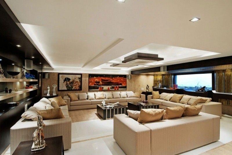 Maheshwari Triplex By Zz Architects Luxury Living Room Luxury Apartments Living Room Designs