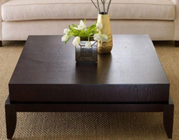 Morgan Square Coffee Table by Abbyson Living contemporary coffee - contemporary tables for living