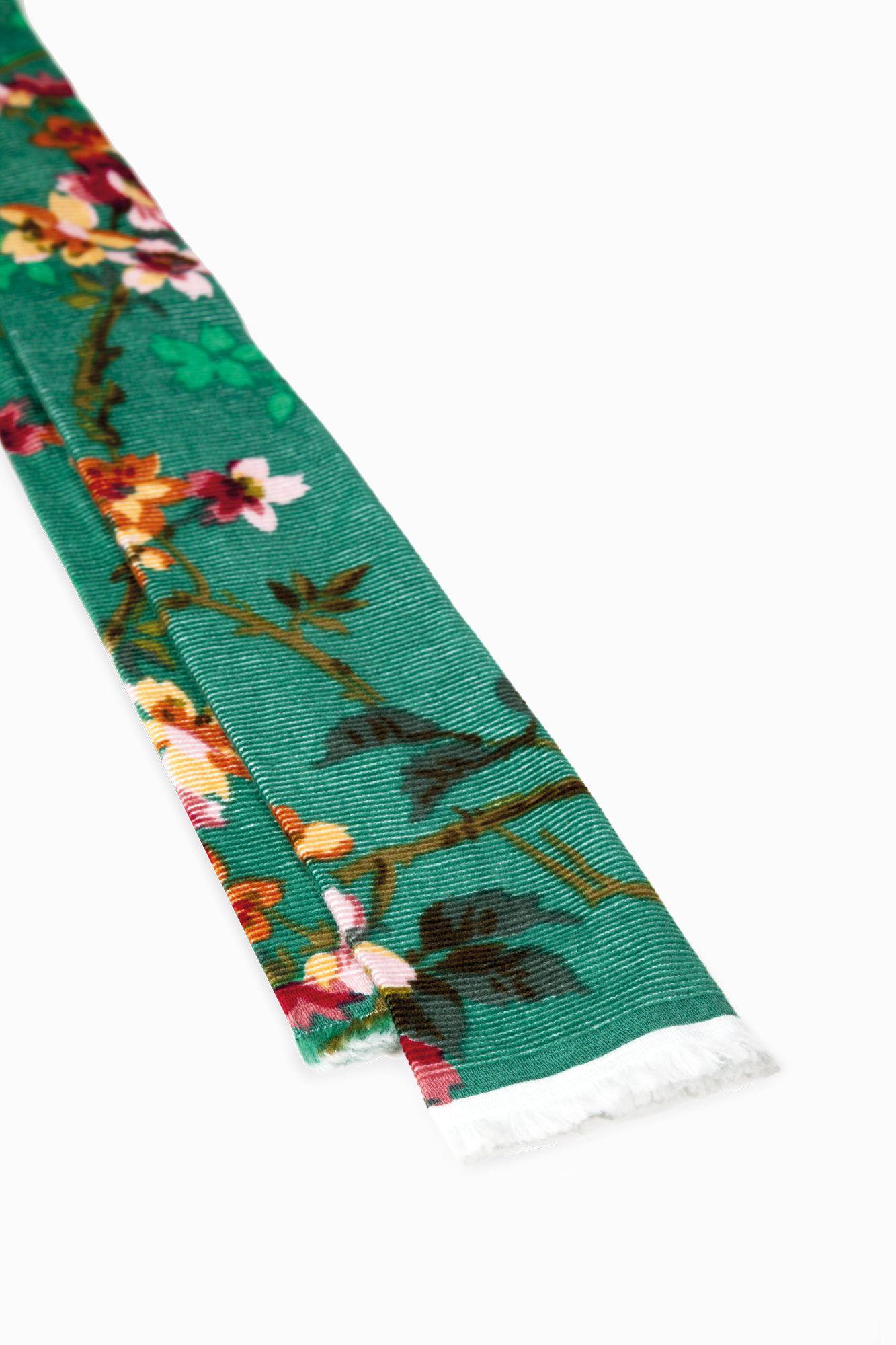 Mosca – Cravatta Flora Velvet