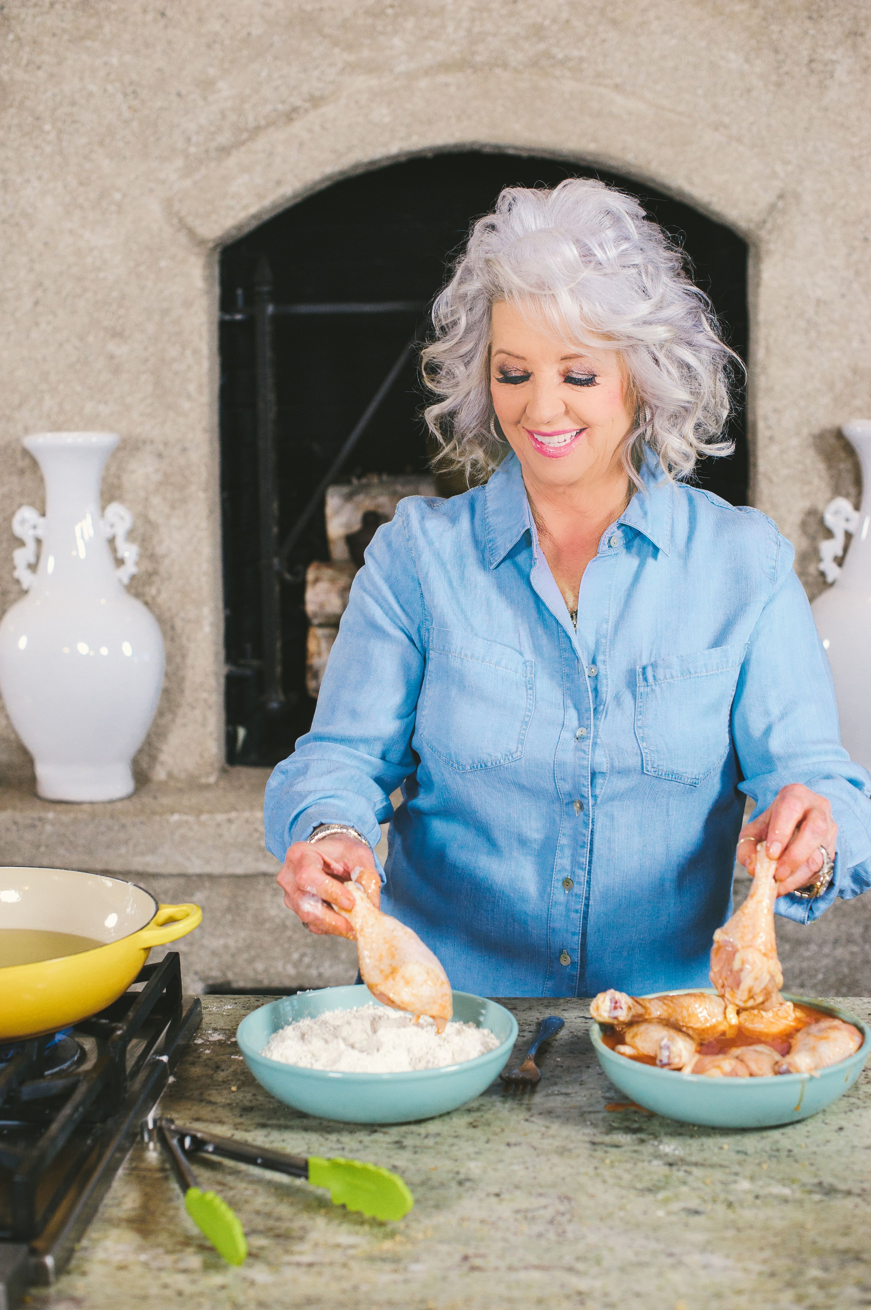 Check out what I found on the Paula Deen Network! 4 Tips for Frying ...