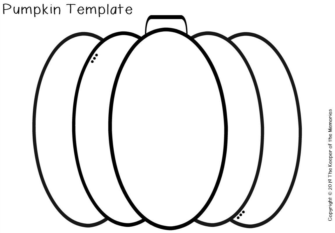 Free Printable Pumpkin Template