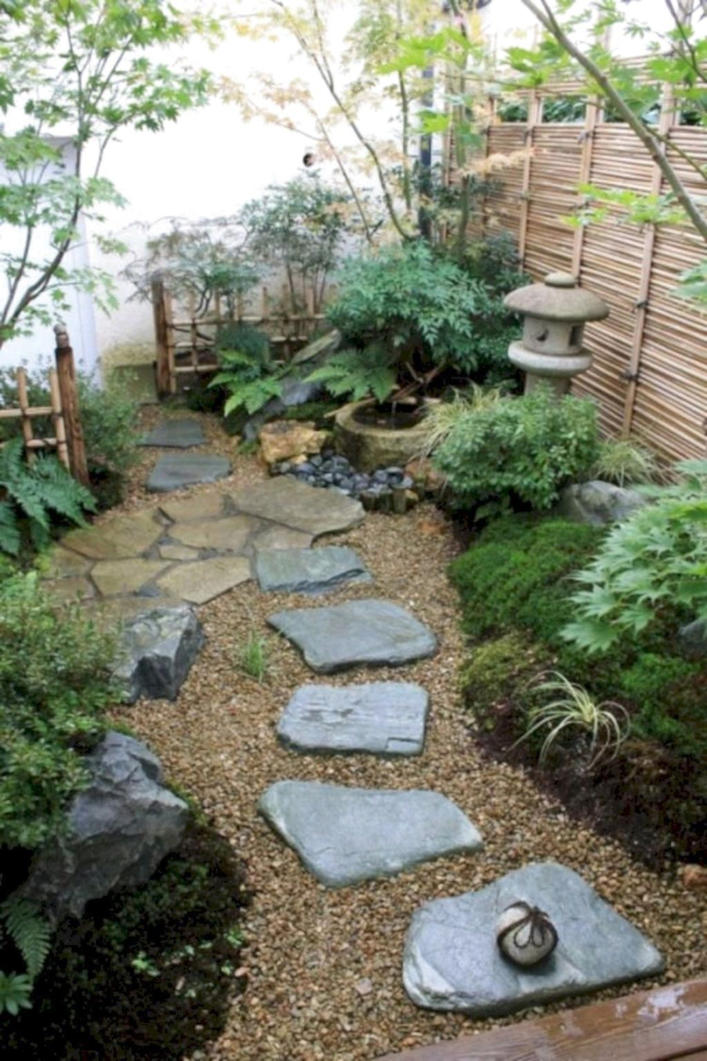 80 Favourite Side House Garden Landscaping Decoration Ideas With