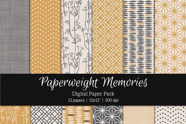 Patterned Paper - Into the West