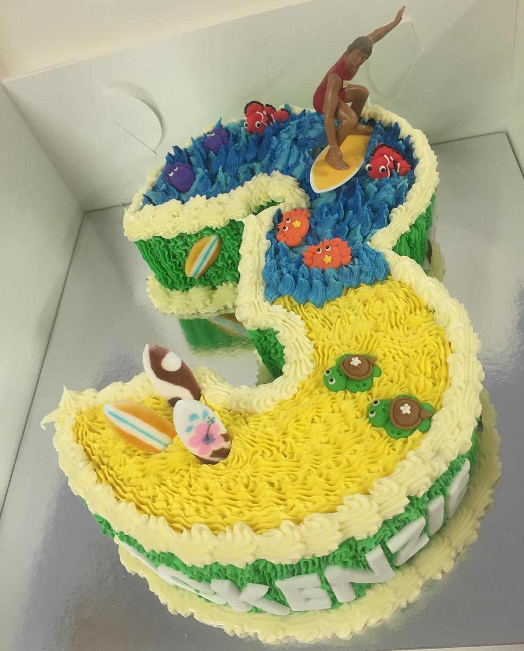 Number 3 Surfing #cake #cakes#cakeporn #cakedesign #cakedecorator #cakedecorating #buttercream #buttercreamcakes #kids #kidscakes #kidsparties #partyplanners #partyplanning #childrenscakes #eventstylist #events #eventmanagement #foodporn #foodblogger #delicious#chocolatecake#birthdaycakes #surfing#surf#beach by temptation_bites