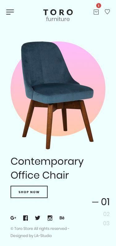 Shopify stores ShopifyCorner Shop chair, Contemporary