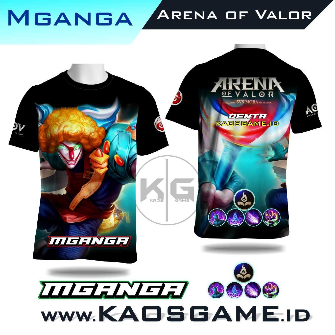 Kaos Mganga Skin Epic Arena Of Valor Aov Sablon Full Print Tahan