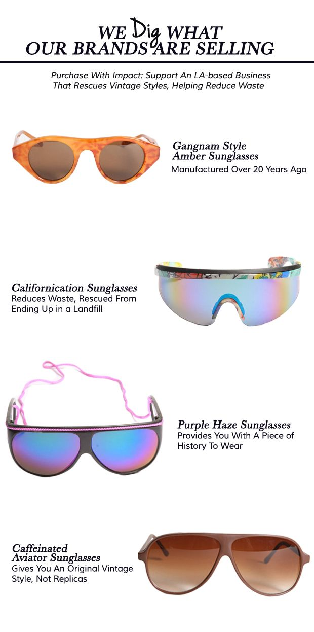 [45% OFF] We DIG Retro Shades