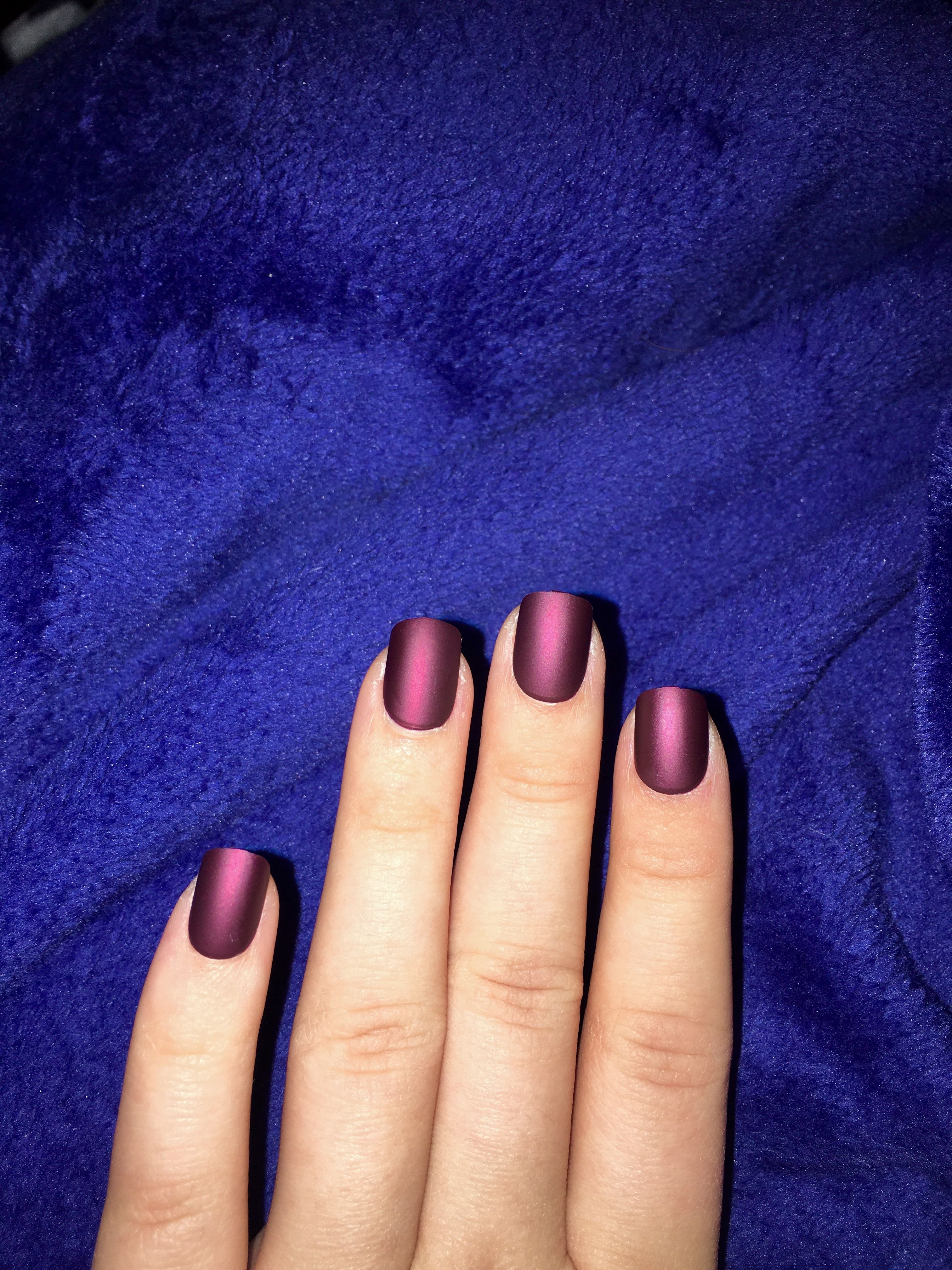 Hack: press on nails from the DG make a great last minute necessity ...
