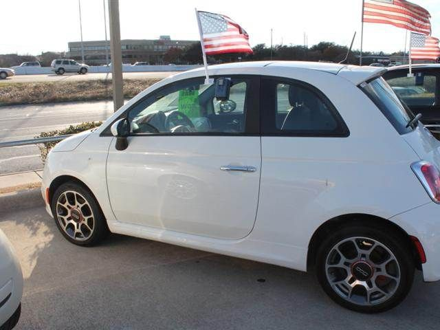 Leif Johnson Ford Austin Tx >> Used 2013 Fiat 500 Lounge Hatchback 2d 12 987 Vin