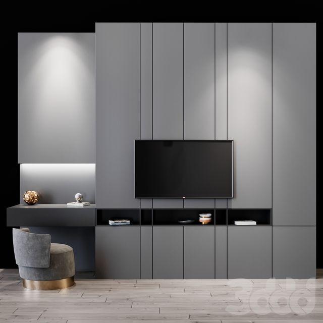 3d модели: Другое - tv set 63 | Дизайн дома, Дизайн ...