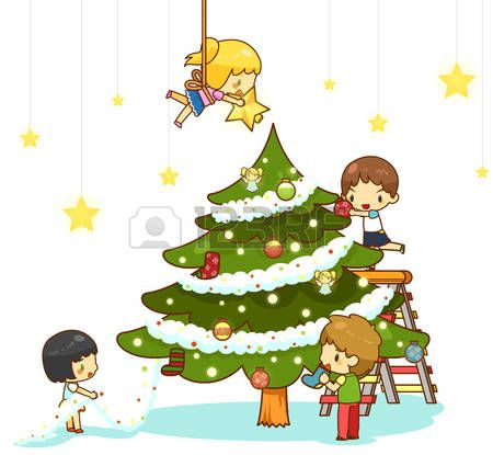 Clip Art Christmas Tree Christmas Tree Clipart Christmas Tree Ornaments Childrens Christmas