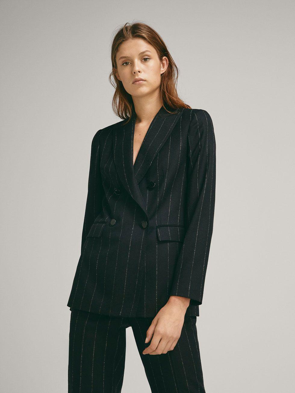 Blazers De Mujer Massimo Dutti Coleccion Primavera Verano 2018 Blazer Wool Blazer Blazers For Women