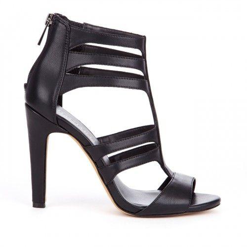Lee cut out heel - Black