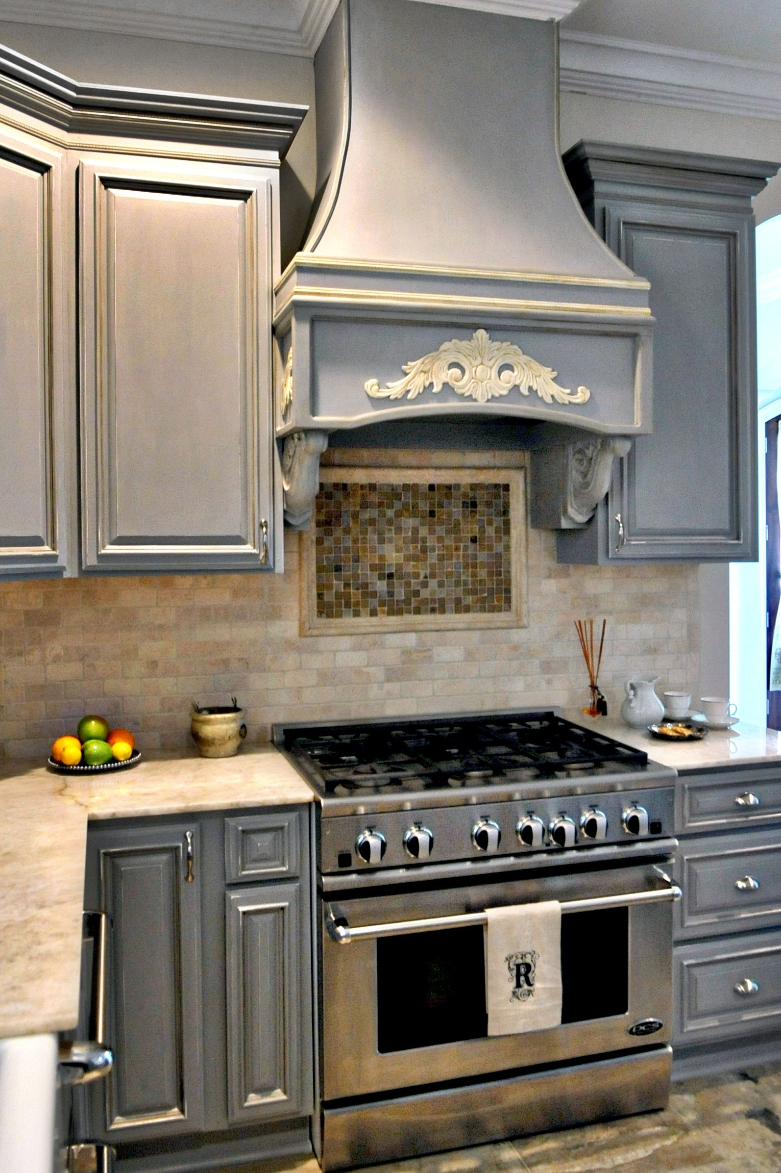 Annie Sloan Chalk Paint In Paris Grey Kitchen Cabinets Painted Grey Chalk Paint Kitchen Cabinets Diy Kitchen Cabinets Build