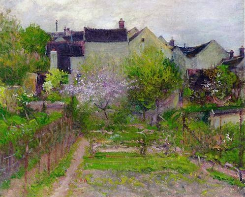 Artist : Robert William Vonnoh (1858-1933) American Painter.